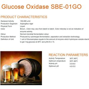 Glucose oxidase for baking enzymes