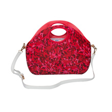 Free sample for O Bag Moon trend red handbag crossbody tote with replacement straps supply to India Manufacturer