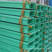 Fiberglass reinforced Channel Type FRP Perforated Cable Tray