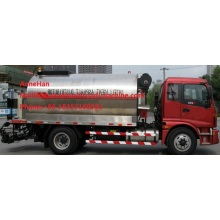 High definition for Special Vehicles Sinotruk HOWO 10 ton asphalt spray truck supply to Equatorial Guinea Factories