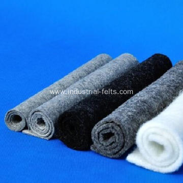 Ecofriendly oil dirty absorbent pads industrial wool felt