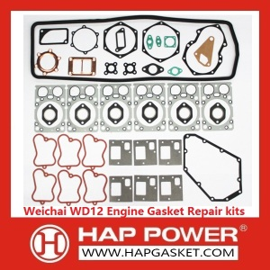 OEM Customized for Head Gasket Set Weichai WD12 Engine Gasket Repair kits supply to Burundi Importers