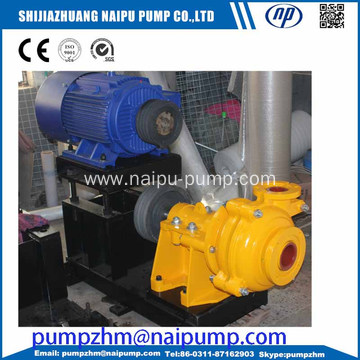 metal wet parts slurry pump 4/3D-AH