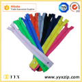 No5 Close End Multi-Color Polyester Zipper