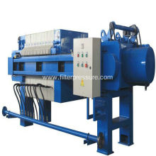 Automatic Filtering Membrane Chamber Filter Press Equipment