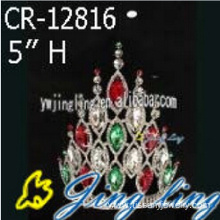 Colored Rhinestone Prom Tiaras And Crowns