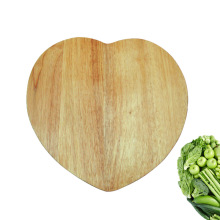Heart shape wood solid cutting board