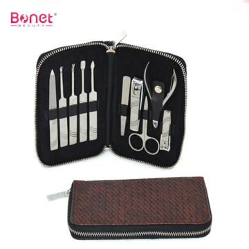 Hot selling promotional 10 pcs manicure kit set