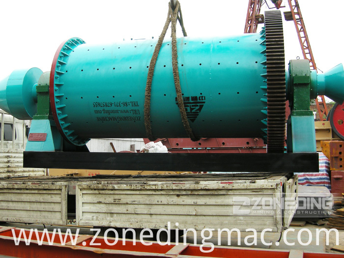 Dry Grinding Rod Mill