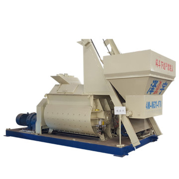 1.5 cubic meters twin shaft concrete mixer