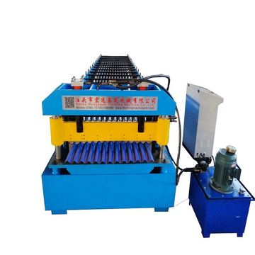 Profile Corrugated Roof Tile Forming Machine