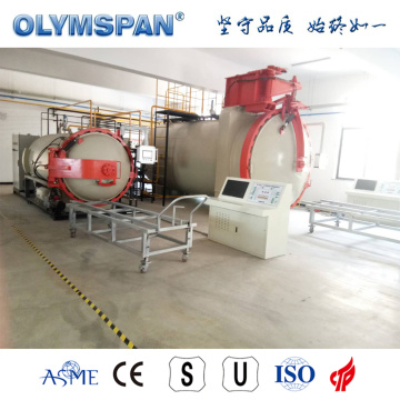ASME standard small prepreg part bonding autoclave