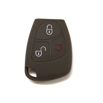 Best Quality for Benz Silicone Key Fob Cover Universal 3 button car key cover for Benz supply to Russian Federation Exporter