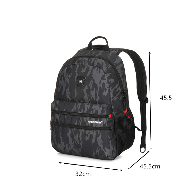 Motion leisure suisswin backpack.