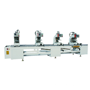 Four-head Welding Machine for uPVC Door and Window