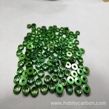 Hobbycarbon Aluminum countersunk washer for hexacopter