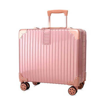 Female ABS material trolley case