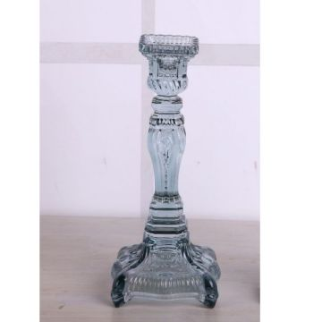 Glass Vintage Candle Holder
