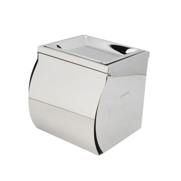 Stainless steel large toilet paper holder