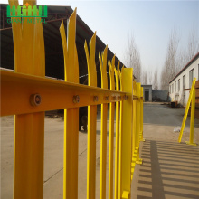 Short Lead Time for Palisade steel fence Best D and W type Colorful palisade fence supply to India Manufacturer