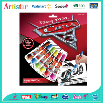 DISNEY&PIXAR CARS Roller Stamp colouring set