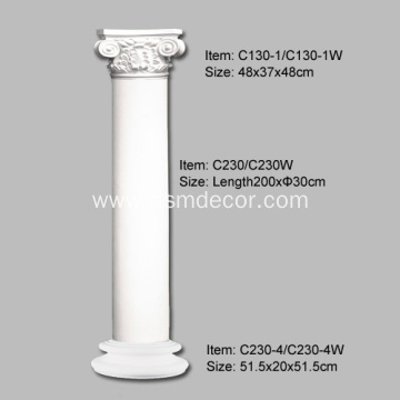 PU Architecturl Indoor Decorative Columns