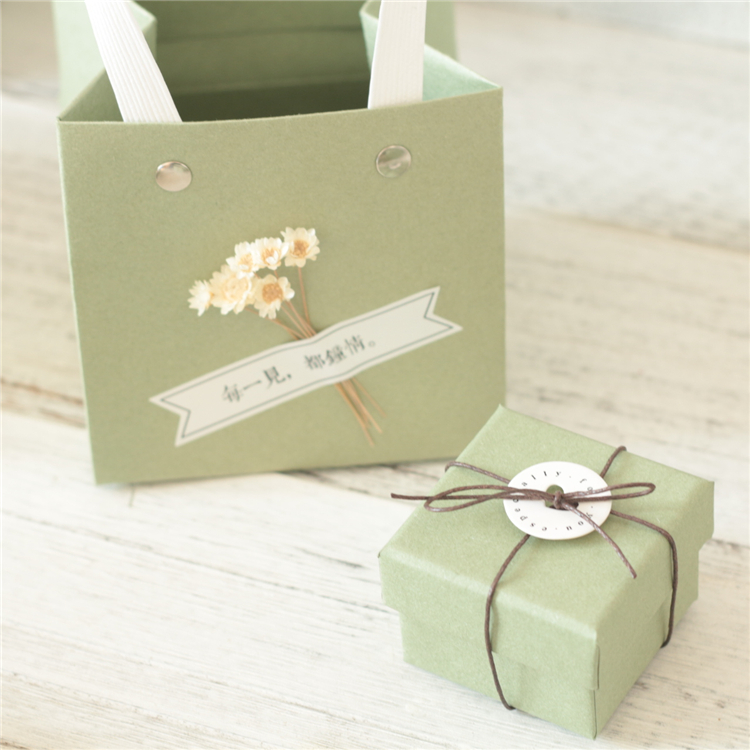 Green best quality jewelry set boxes
