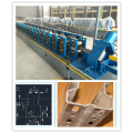 Storage rack roll forming machine with punching