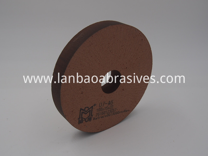 detail of 07A6D100 polishing wheel