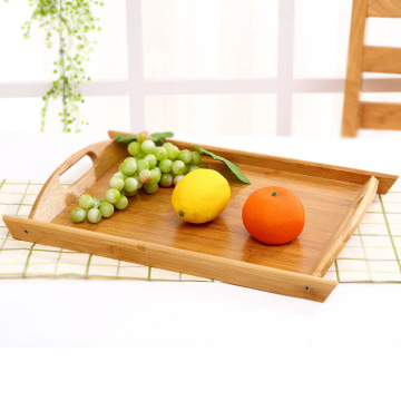 Cheap Wholesale Wooden Decorative Kitchen Dinner Large Bamboo Serving Tray