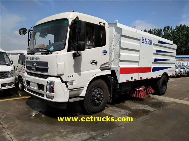 Dongfeng 8 CBM Road Sweeper Trucks