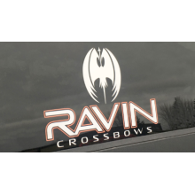 RAVIN - WINDOW DECAL
