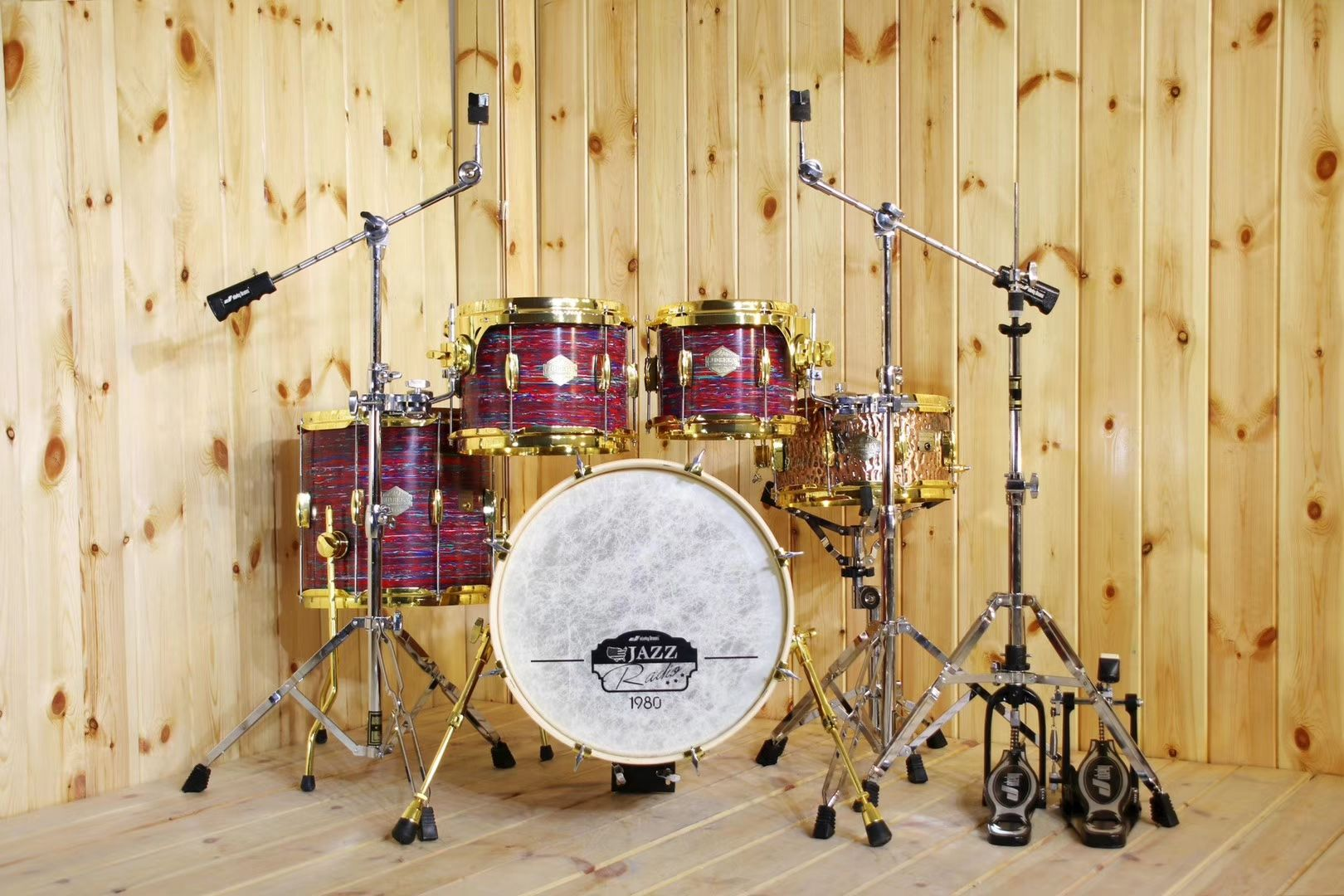5 Pieces Drum Kit