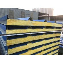 China Factory for China Glass Wool Sandwich Panels, Lightweight Glass Wool Sandwich Panels, Fiber Glass Sandwich Panels Supplier Core Material Glass Wool Sandwich Panel export to Indonesia Suppliers