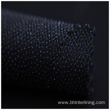 Bonded to cotton fabric adhesive woven interlining