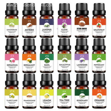 OEM essential oil set 3/4/6/8/10/12/16/18