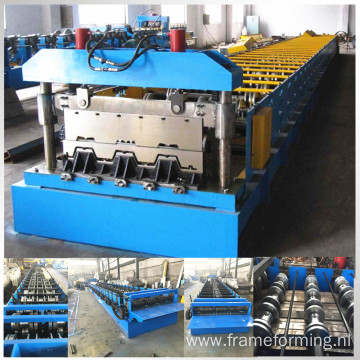 Galavanized steel deck sheet profile machine