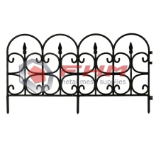 Decorative Metal Garden Fencing Border Fence