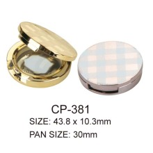 Plastic Round Cosmetic Compact Container