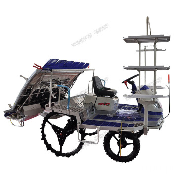 Riding Type Agricultural Machinery Paddy Seedling Transplanter