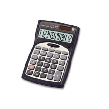 solar dual power business and office desktop calculator