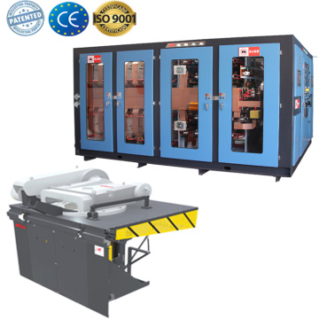 Steel smelting pot machine melting furnace for sale