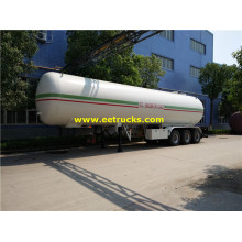 56000 Litres Large Propane Gas Transport Trailers