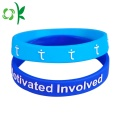 Cheap Embossed Simple And Fashion style Silicone Bracelet