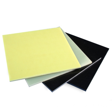 Black/Yellow/Green Insulation Fr4 Material Sheet