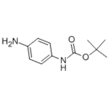 Carbamic acid,N-(4-aminophenyl)-, 1,1-dimethylethyl ester CAS No.:71026-66-9 Molecular Structure: Molecular Structure of 71026-66-9 (Carbamic acid,N-(4-aminophenyl)-, 1,1-dimethylethyl ester)  Formula: C11H16N2O2 Molecular Weight : 208.26 Synonyms: 1,1-Di