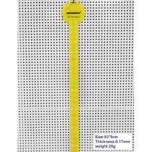Supermarket yellow color plastic hanging strip