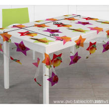 Pvc Printed fitted Zebra table covers