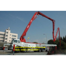Leading for Small Concrete Pump Truck XCMG/SANY 37m concrete Boom Pump Truck supply to Malawi Factories
