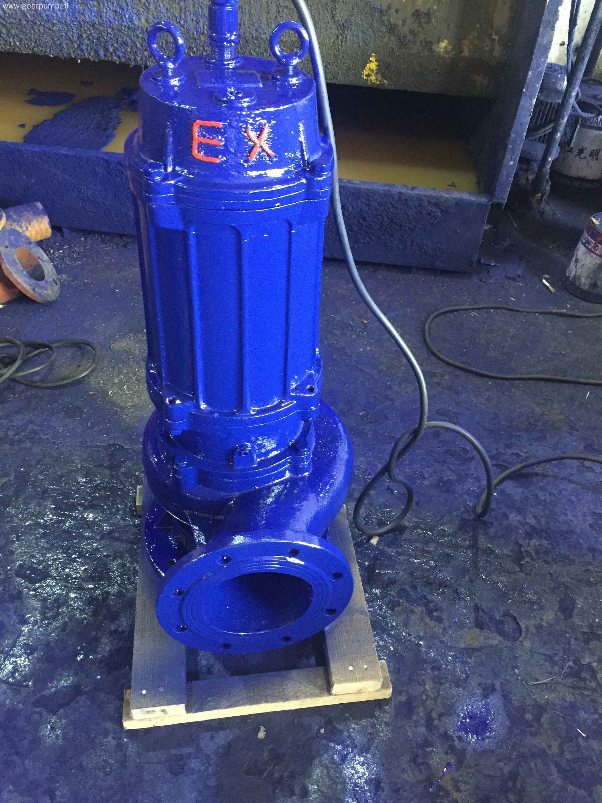 QW series electric submersible sewage lift pump
